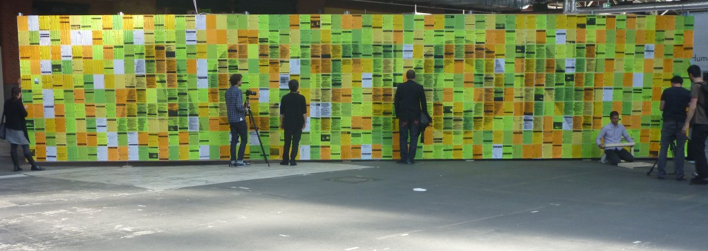 re:publica 2012 Twitterwall