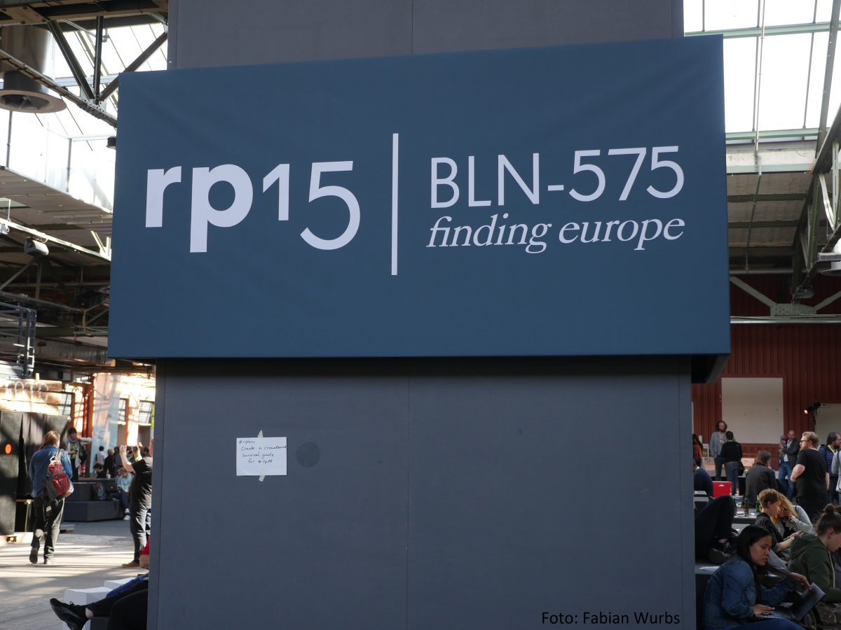 republica 2015 - Finding Europe